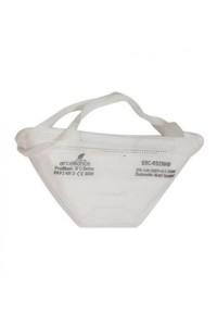 Salokāms FFP3 respirators aizsardzībai pret cietām daļiņām